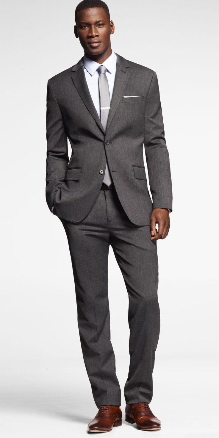 Gray Suit With Brown Shoes - Why Mix Gray and Brown