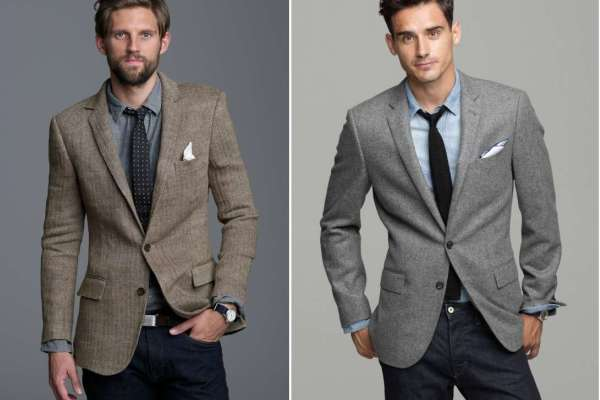 How to wear a Sport Coat with Jeans or Suit Jacket with Jeans