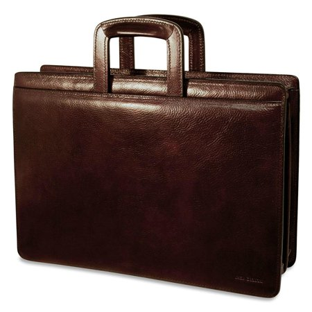 Jack Georges Sienna Slim Leather Briefcase
