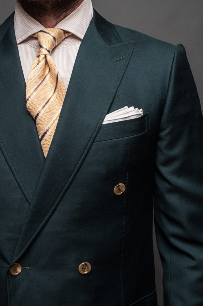 Types of Suits - Roped Shoulders