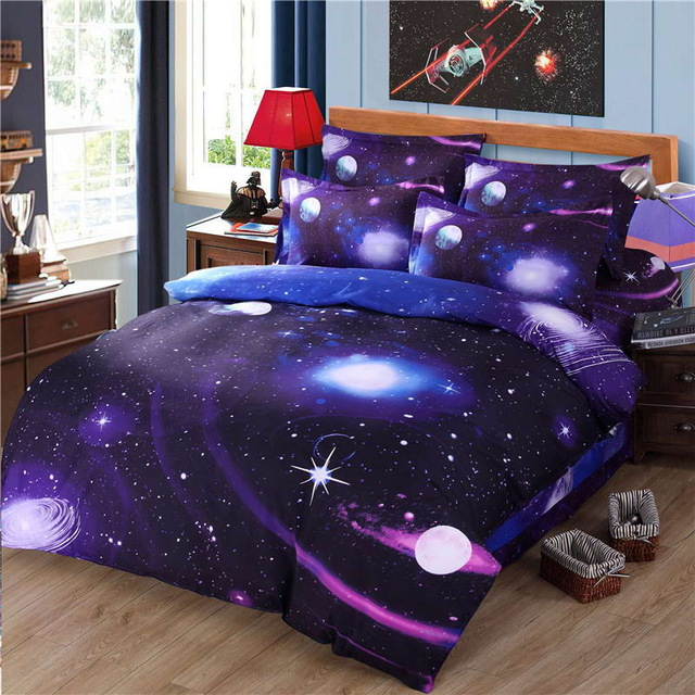 Space-themed textiles