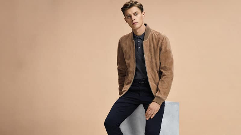 Before You Buy A Bomber Jacket - Suede Bomber Jacket