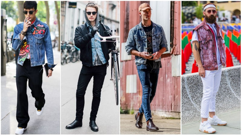 Before You Buy A Denim Jacket - Shoes to Wear with a Denim Jacket