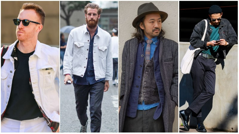Before You Buy A Denim Jacket - White and Grey Denim Jackets