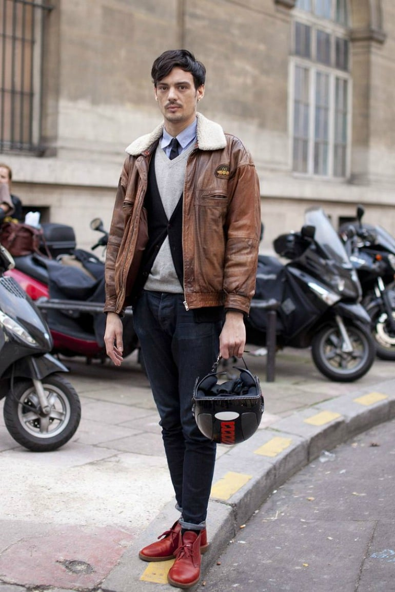Brown Leather Jacket - Smart Chic