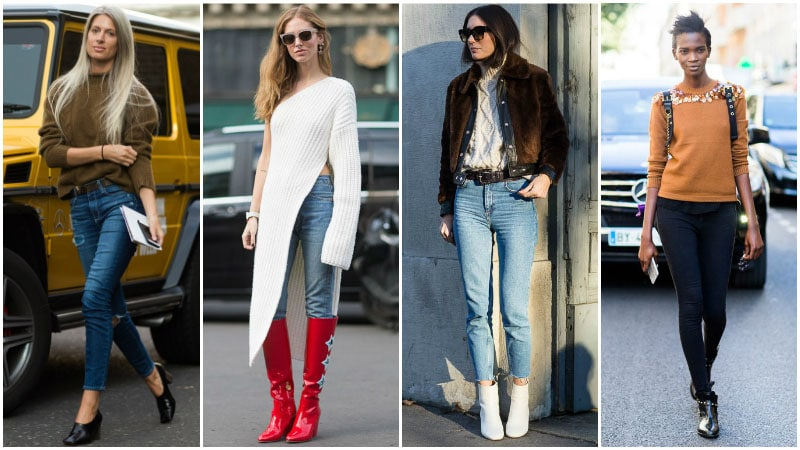How To Wear Skinny Jeans For Women - Style it with Sweaters