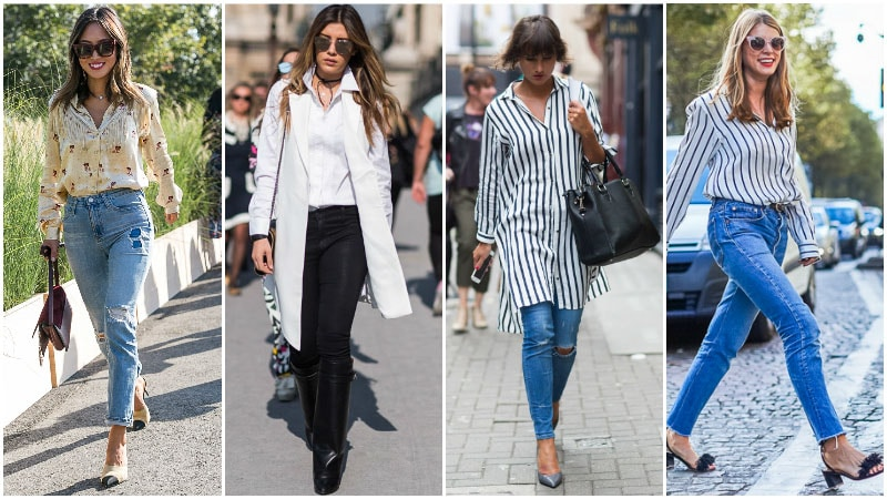 How To Wear Skinny Jeans For Women - Wear it with a Shirt