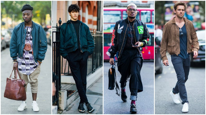 Men's Guide To Rocking Athleisure Trend - Bomber Jackets