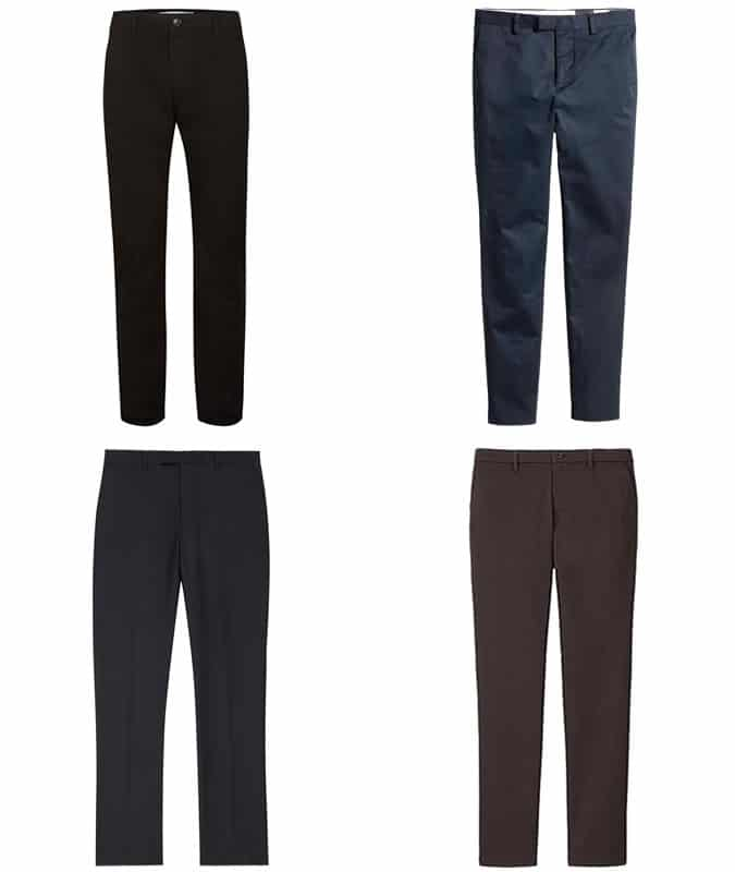 5 Key Business-Casual Pieces - Chinos