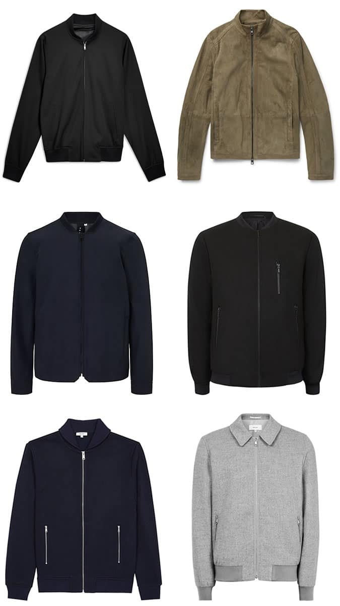 5 Key Smart Casual Pieces - Blazer Bomber
