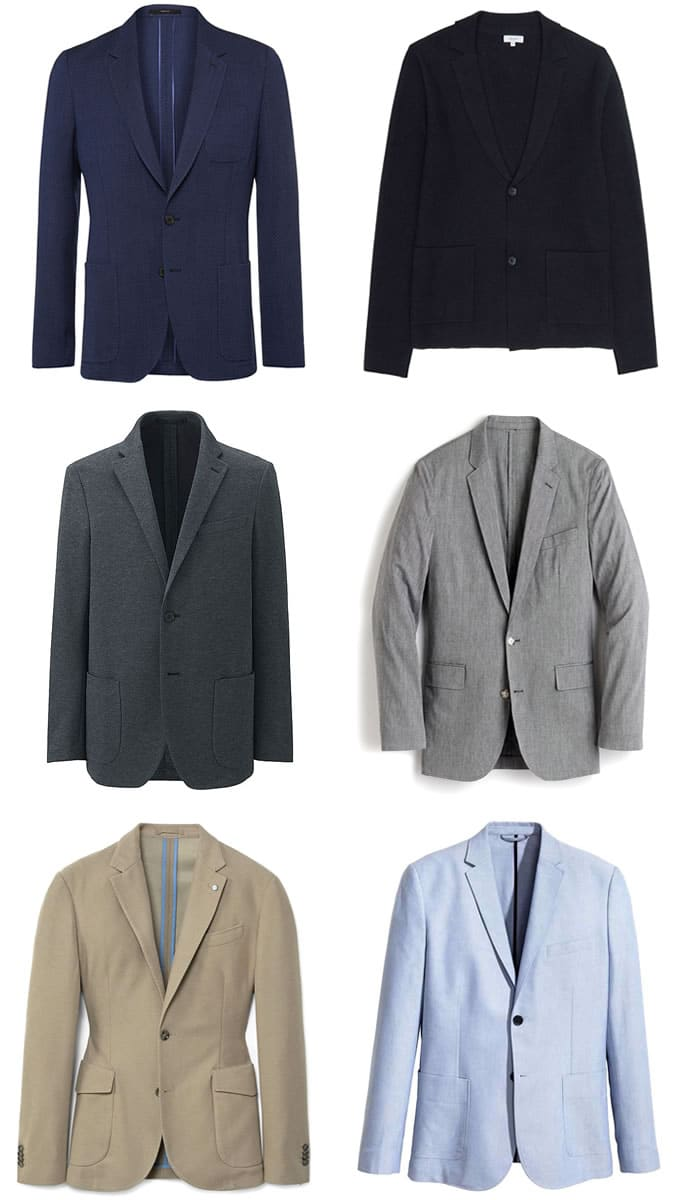 5 Key Smart Casual Pieces - Blazer