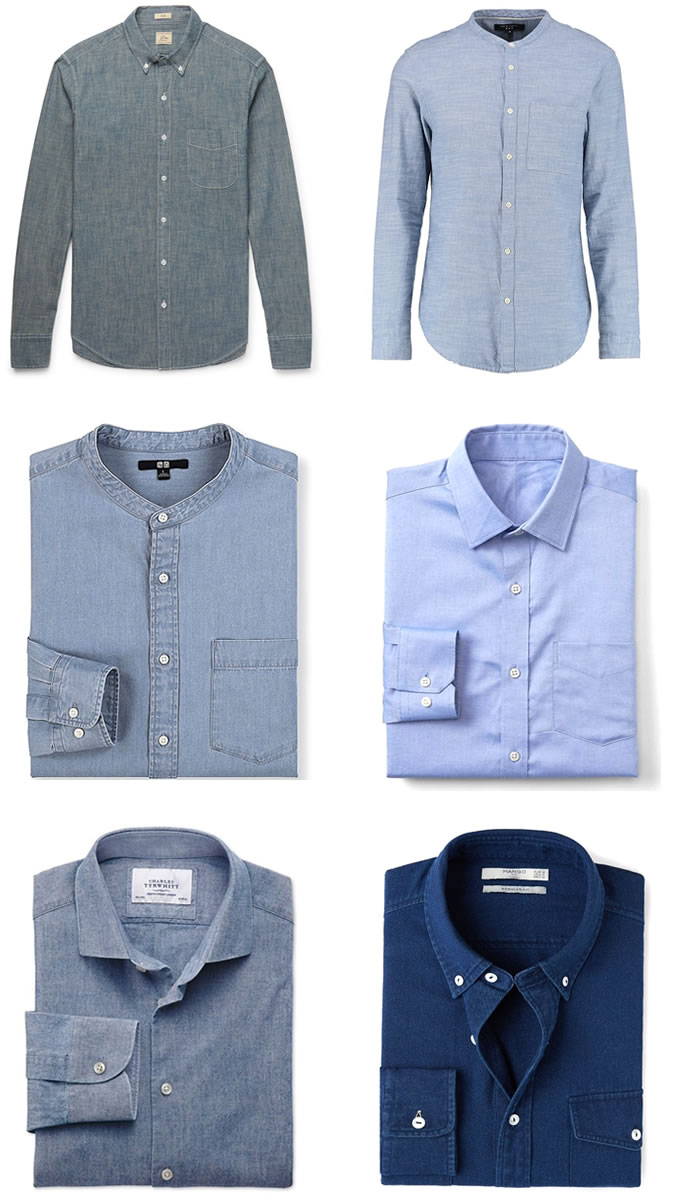 5 Key Smart Casual Pieces - Chambray Shirt