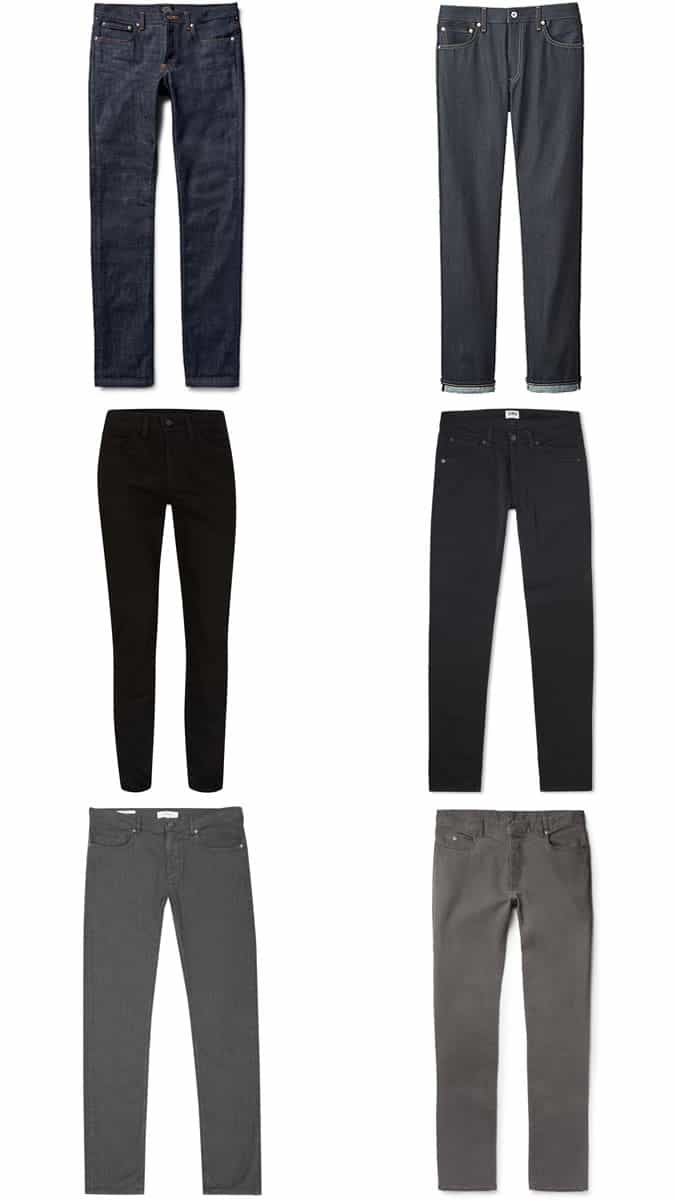 5 Key Smart Casual Pieces - Dark Jeans