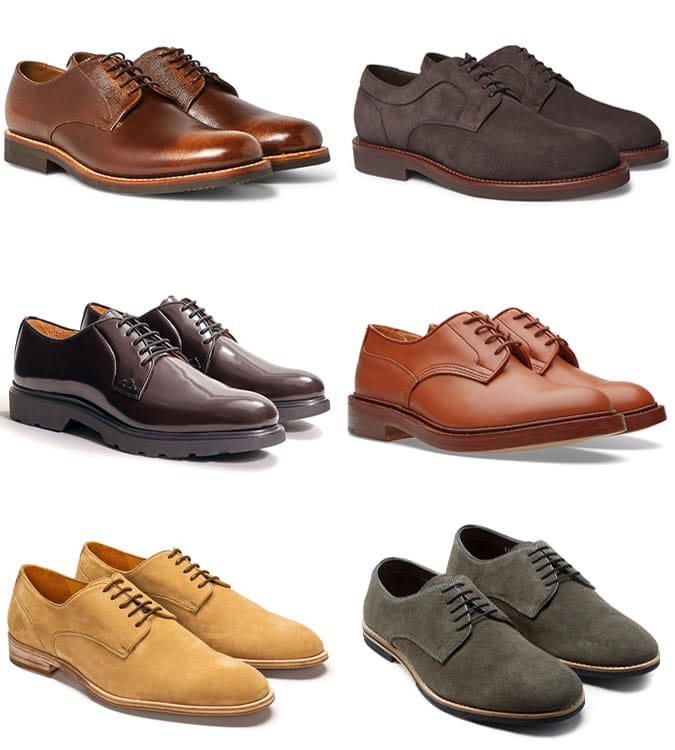 5 Key Smart Casual Pieces - Derbies