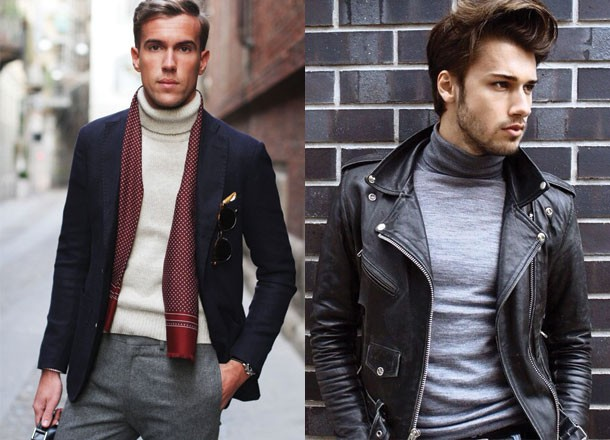 6 Ways on How To Wear Smart Casual Sweaters - 3 The Roll Neck