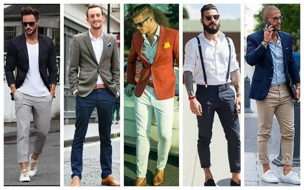 Business Casual Men Chino