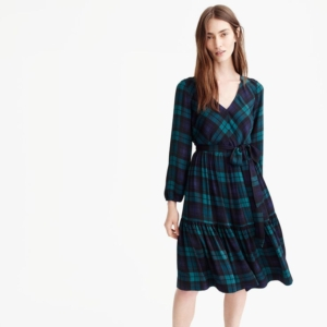 Cutest Winter Dresses - Perfectly Plaid