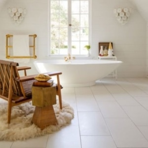 How To Decorate With Sheepskin Rug