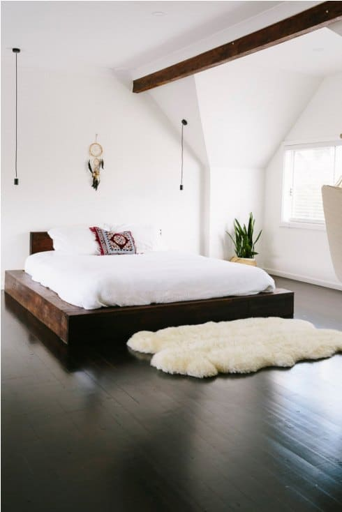 How To Decorate With Sheepskin Rug - Soften Your Bedroom