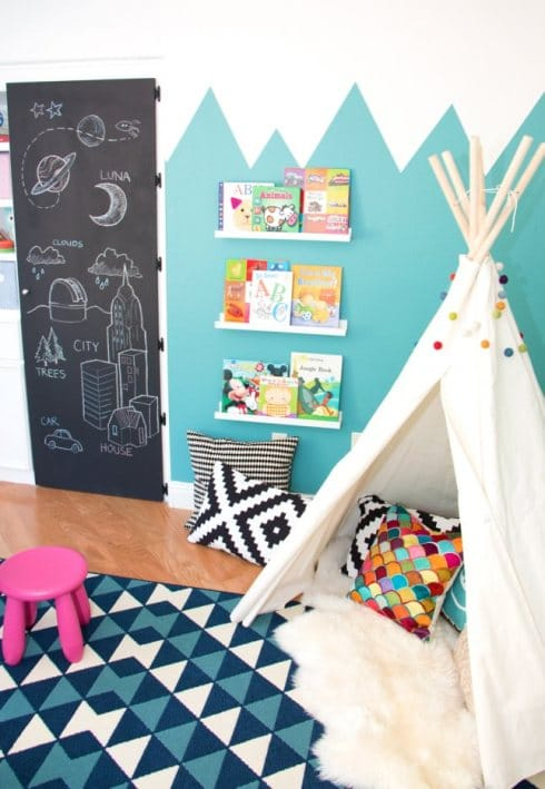 How To Decorate With Sheepskin Rug - Whimsical Kids Rooms