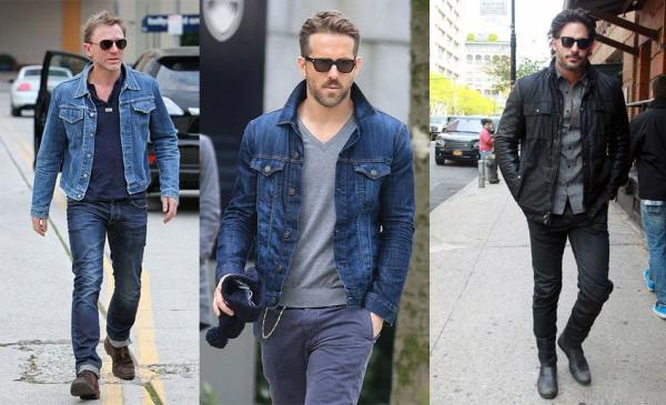 How To Dress For Huge Muscles Body Type - Slim-Fit Denim