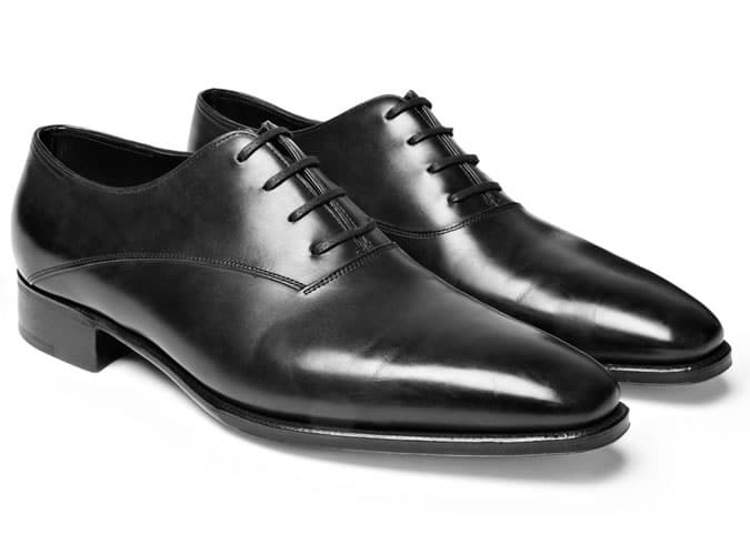 Oxford Shoes - Plain-Toe Oxford Shoes