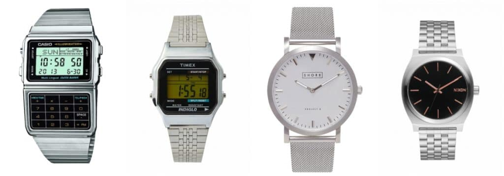 The Best Silver Watches For Men - Metal Strap Watches