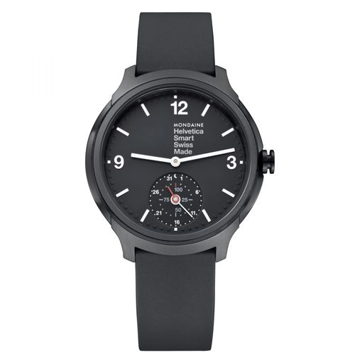 Best Smartwatches For Men - Mondaine Helvetica MH1B2S20RB