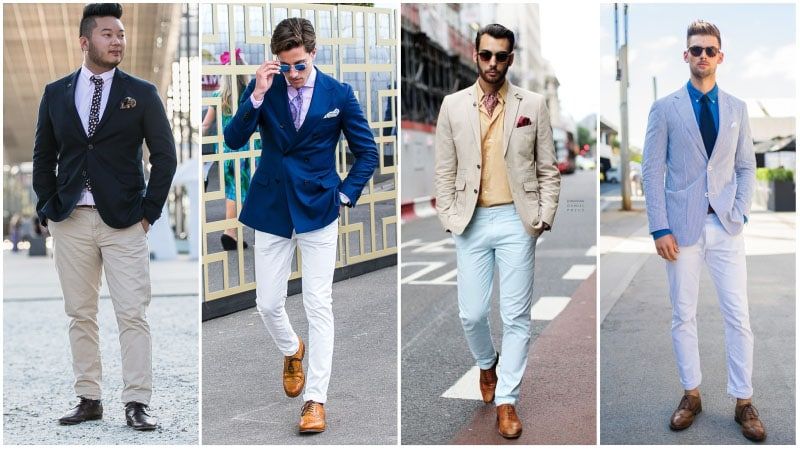 How To Wear Brogue Shoes with Chinos