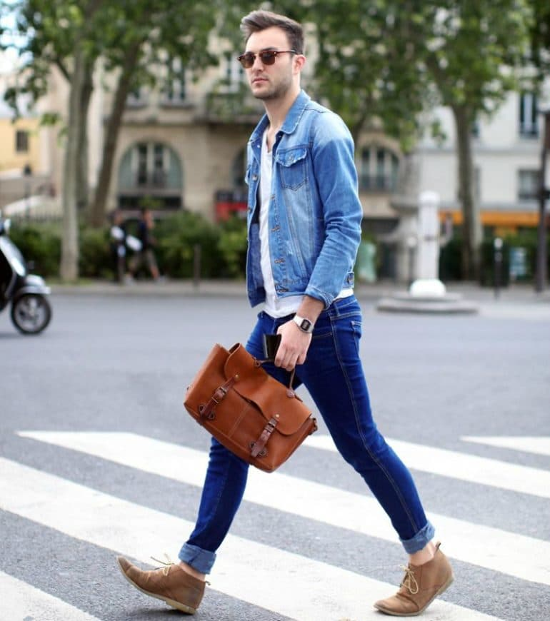 How To Wear Dress Boots - Chukka Boots