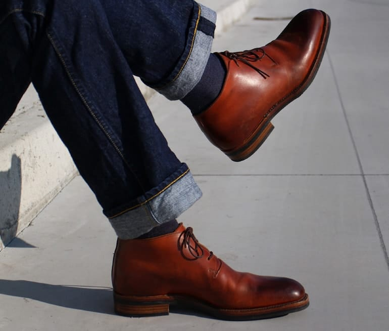 How To Wear Dress Boots - Derby Boots