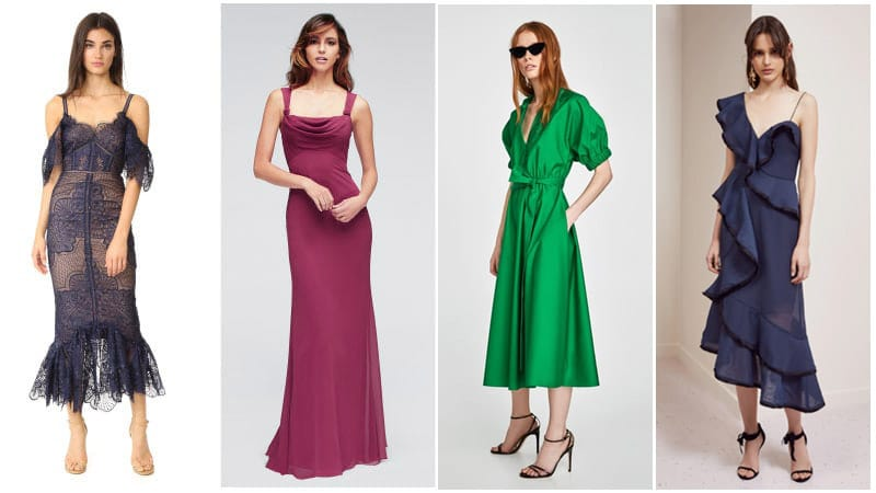 Winter Wedding Colors - Wear To A Winter Wedding As A Guest