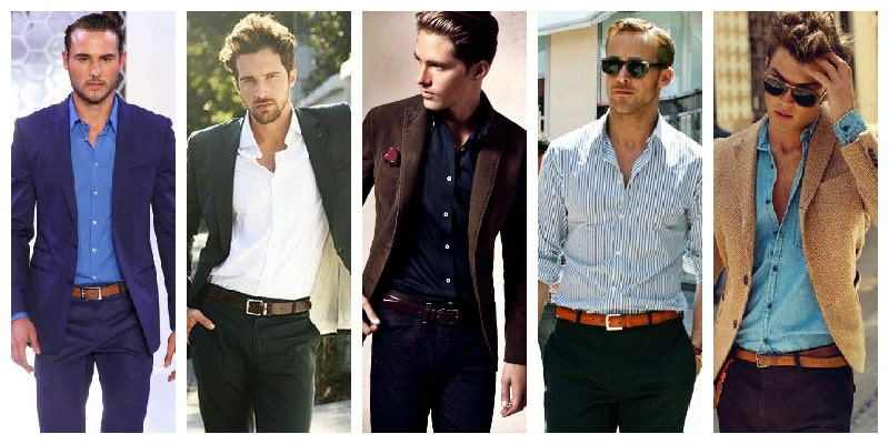 Cocktail Attire For Men - Belts