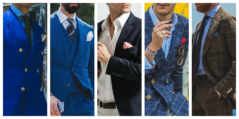 Cocktail Attire For Men - Pocket Squares