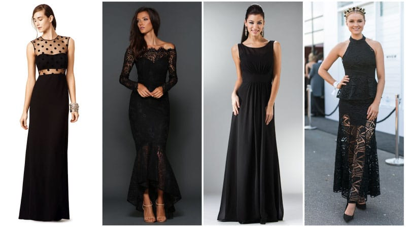 Formal Black Dresses