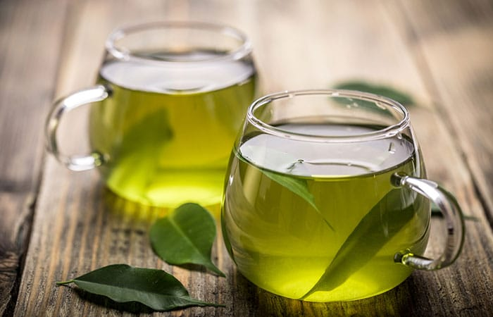 8. Green Tea Ice Cubes For Flawless Skin