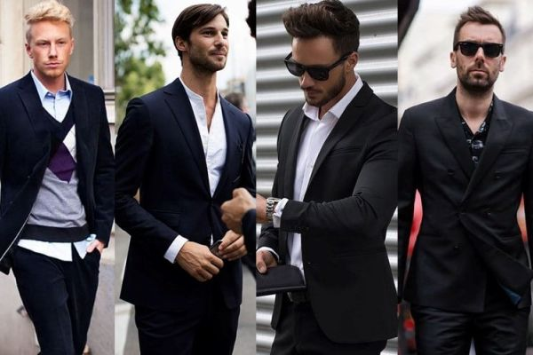 How To Wear A Black Suit For Men