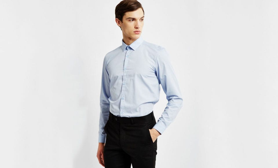 Polyester Dress Shirts