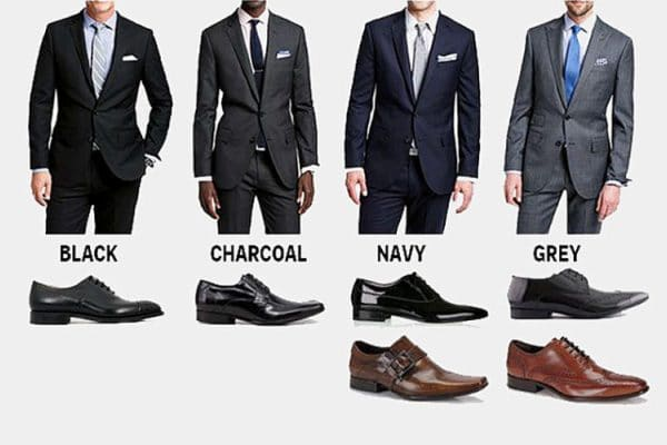 What Color Shoes to Wear With Your Suit