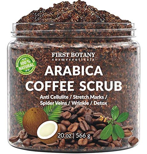First Botany Arabica Coffee Scrub