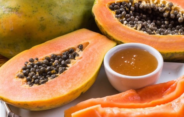 Papaya face mask add a healthy glow to your face
