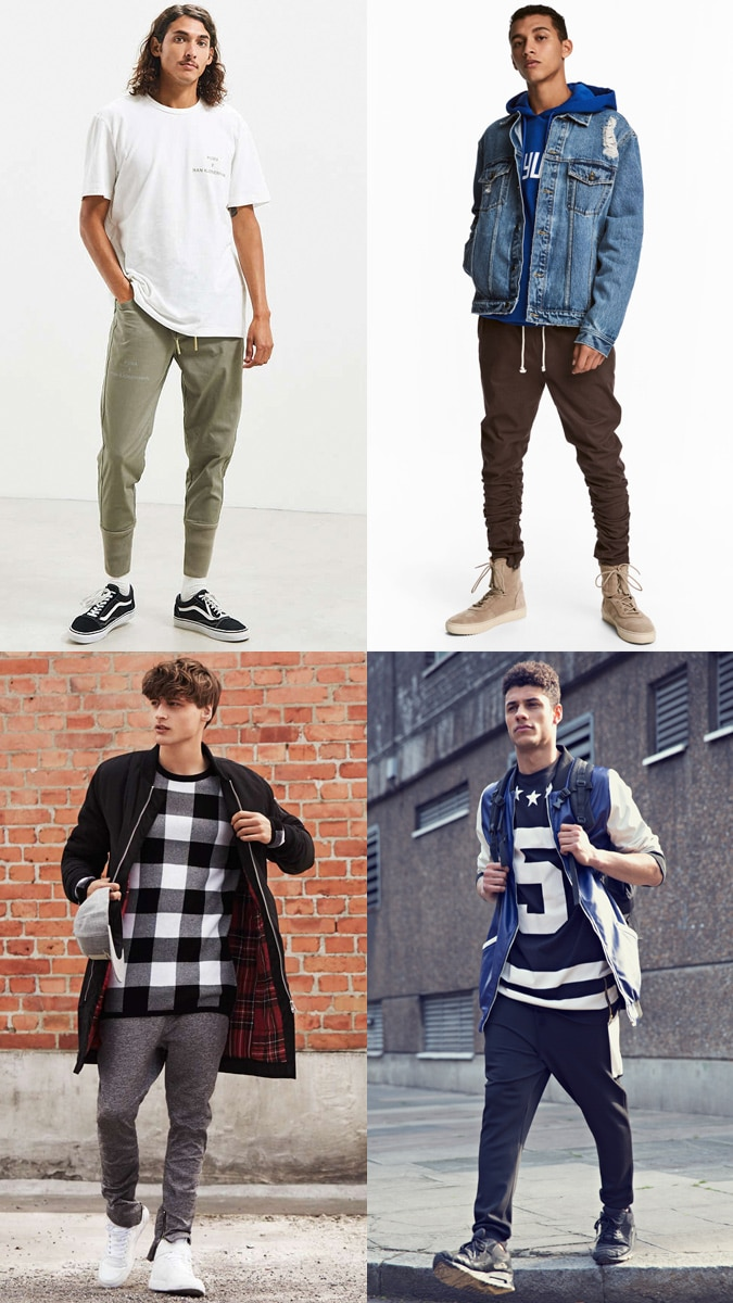 How to wear joggers - Streetwear-Inspired