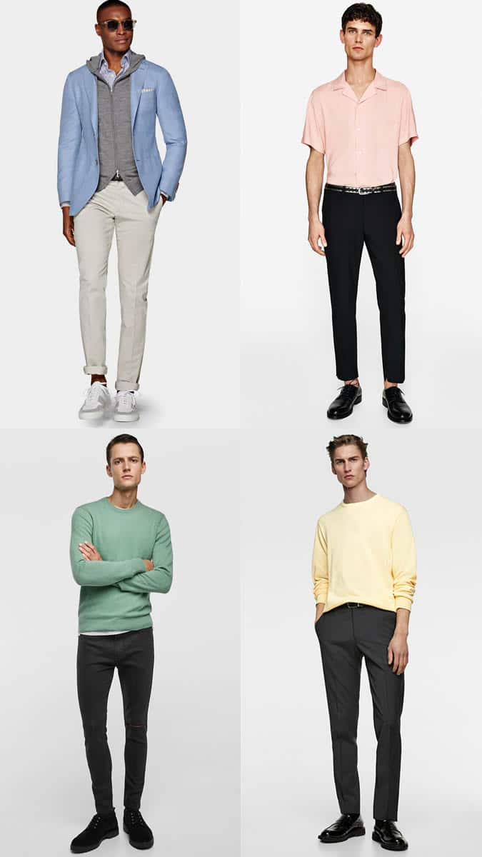Smart-Casual Pastels