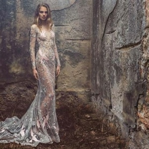 Silver Wedding Dresses That Will Make You Shine
