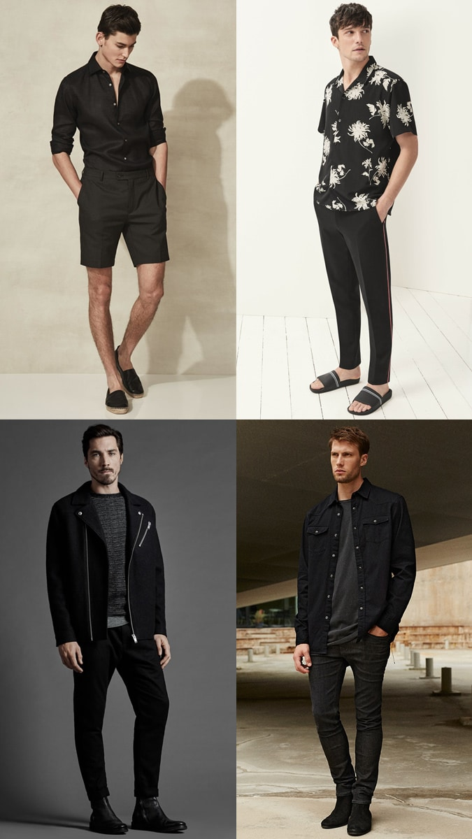 Tonal Dressing Colours black