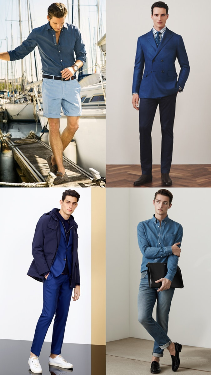 Tonal Dressing Colours blue