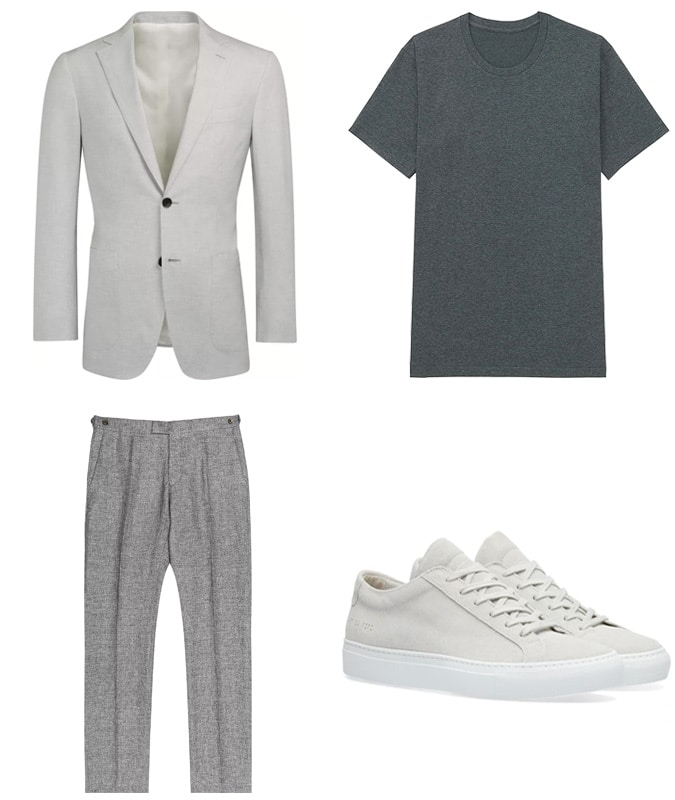 Tonal Outfits Smart-Casual