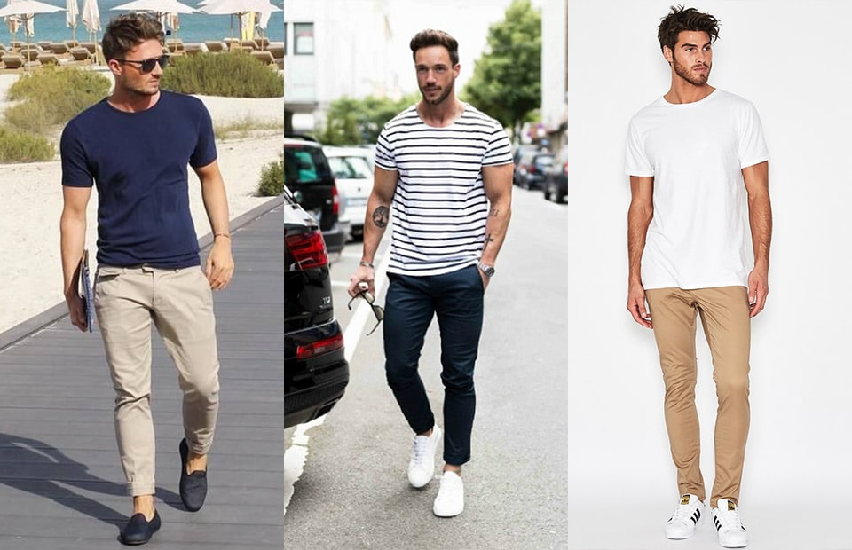 chinos-tshirt-men