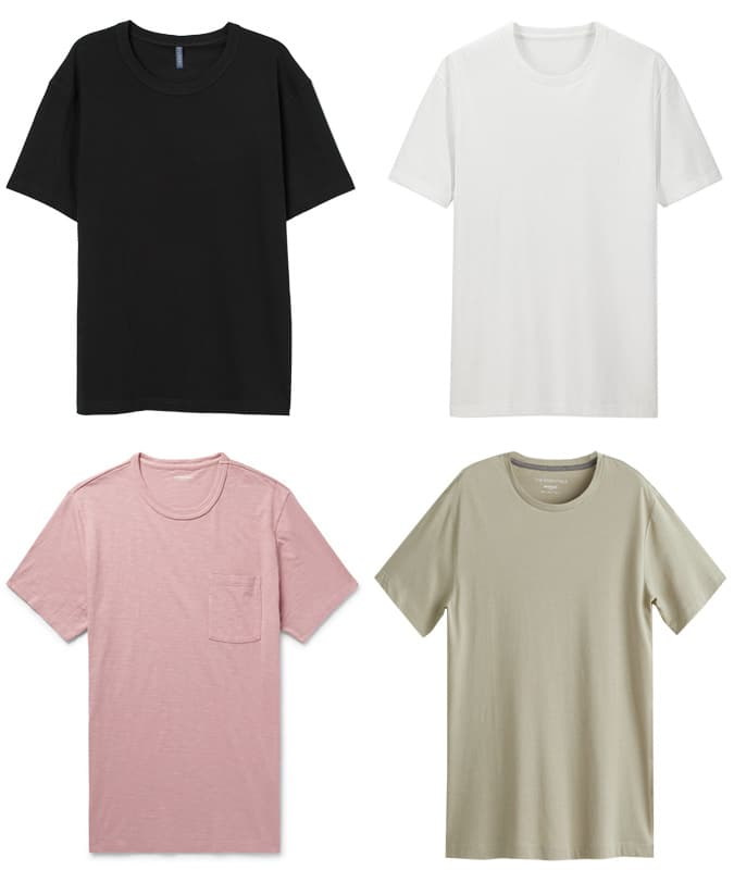 Affordable t-shirts guide
