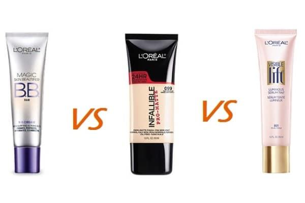 BB Cream vs Foundation vs Tinted Moisturizer